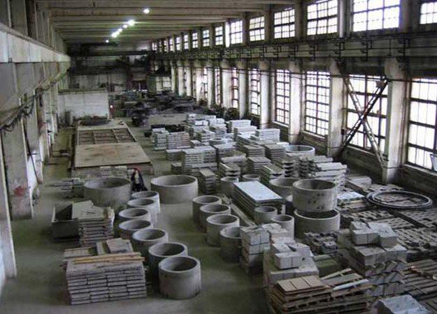производство жби изделий.