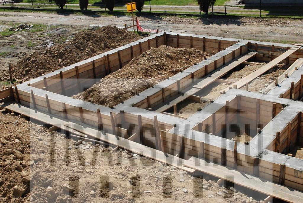 Виды фундаментов для постройки частного дома